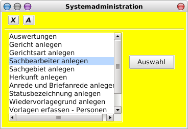 Systemadministration